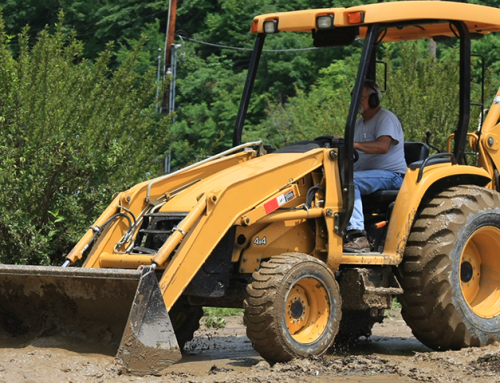 How can I protect my backhoe from corrosion? I use it near the ocean and it's a big investment.